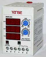 Реле контроля напряжения 3-х фазные микропроцессорное электронное цена купить TENSE