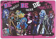 Подкладка настольная (42,5х29 см) KITE 2013 Monster High 207 (MH13-207K)