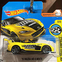 Hot Wheels базова модель 15 Mazda MX-5 Miata