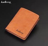 Портмоне кошелек Baellerry R2009V_br коричневый вертикальный