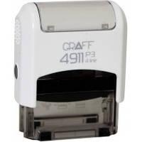 Оснастка GRAFF 4911 P3 GLOSSY 38х14 мм біла GRF42104-14