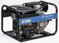 Однофазный дизельный генератор SDMO Diesel 6000 E-XL (5,2 кВт)