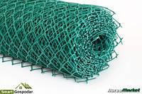 Пластиковая сетка ячейка ромб, 1,5х25 м.