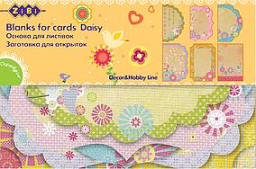 """Заготовка для открыток """"Daisy"""" 10.2*15.3см (ZB.18204-AF)"""