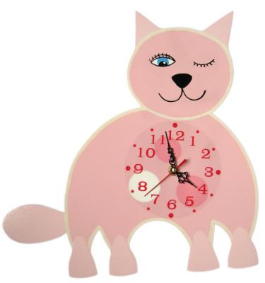 Детские настенные часы «Котик-Мудрун», Funny Animals