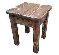 Табурет деревянный под старину КНЯЗЬ для дома, бани, ресторана и бара