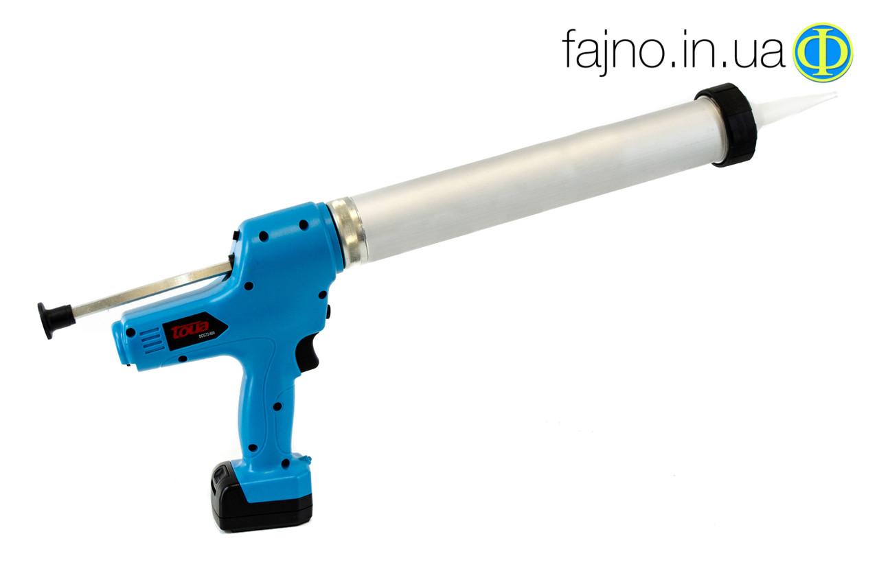 Аккумуляторный пистолет для герметика Toua DCG 72-600