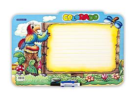 Дошка ламінована для письма COLORADO, дитячий варіантgr.TAB3