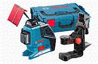 Линейный лазерный нивелир Bosch GLL 3-80 P Professional + BM1 + L-BOXX