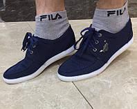 Туфли/мокасины мужские на шнурках