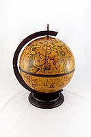 Глобус-бар настольный 42002R цвет коричневый