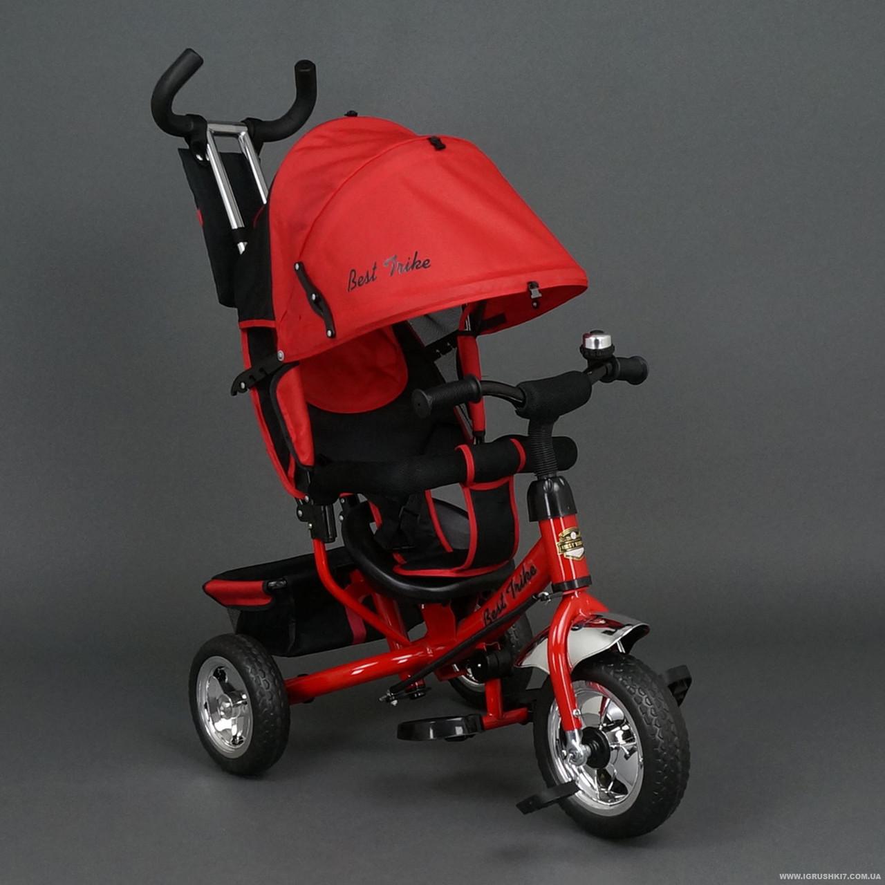 Велосипед трехколесный Best Trike EVA 658 Красный