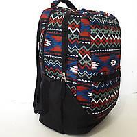 Рюкзак городской с этно принтом