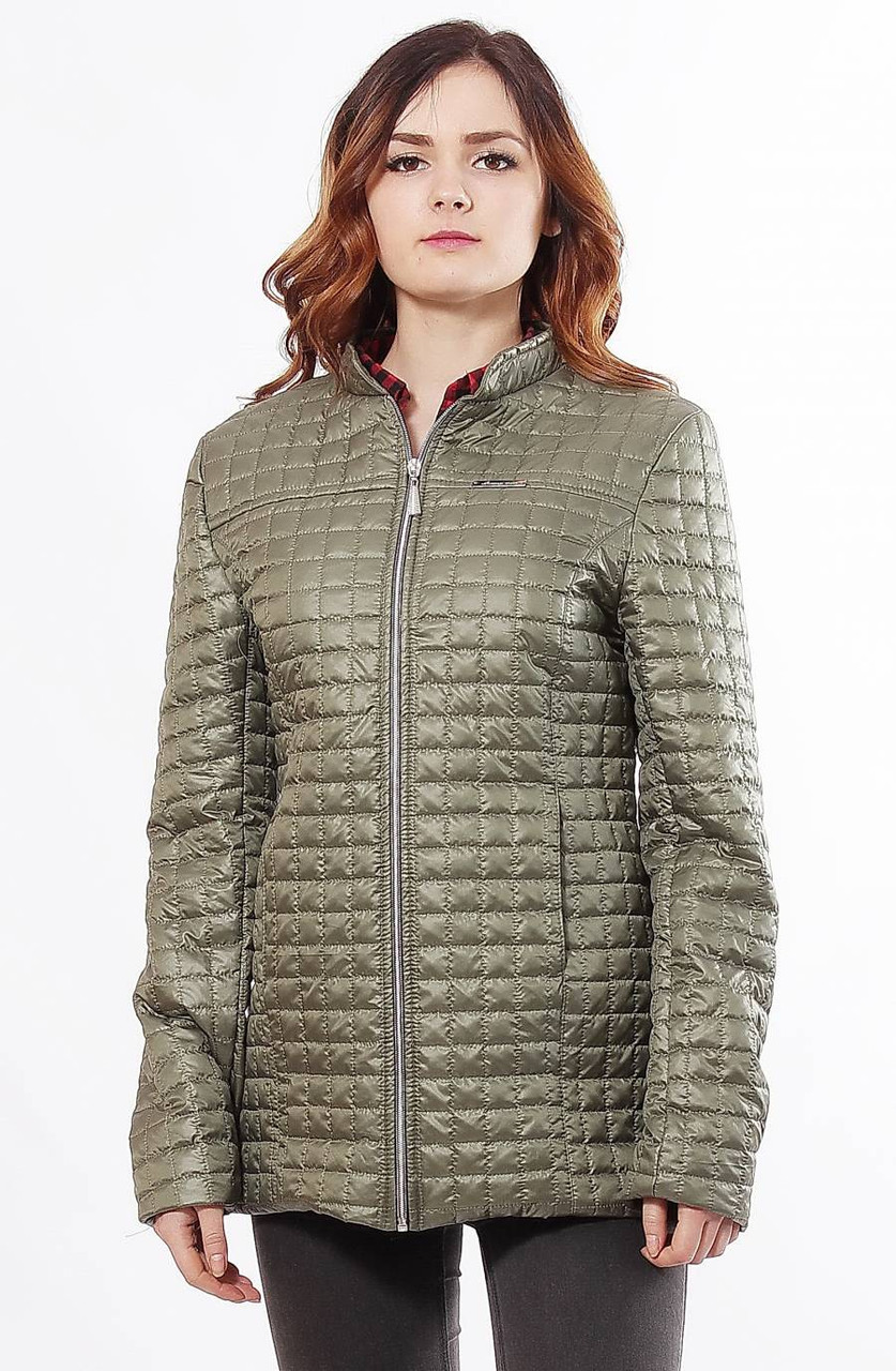 Демисезонная стеганная куртка  Саша 2-К   10 цветов