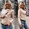 Женская стильная легкая курточка-косуха в расцветках. Оц-4-0317, фото 3