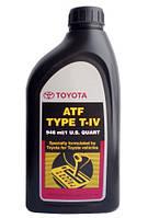 Масло трансмиссионное для АКПП TOYOTA ATF T4 1л Оригинальное трансмиссионное масло TOYOTA 00279-000T4