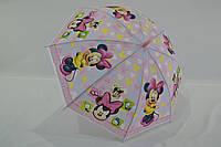 """Детский зонтик с мультяшными героями на 4-8 лет от фирмы """"Paolo""""."""