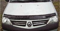 Дефлектор капота Renault Logan c 2004-2012. Производитель AV.