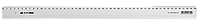 Лінійка пластикова 50см, прозора, в блістеріBM.5826-50