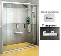 Душевые двери Ravak BLDP4-190 Transparent+Satin, фото 1