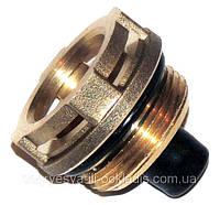 Втулка (гайка латунная) клапана 3-х ходового, привода (сервопривода, электропривода), код сайта 0204