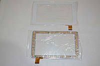 Оригинальный тачскрин / сенсор (сенсорное стекло) для Reellex TAB-07B-01 (белый цвет, тип 1, самоклейка)