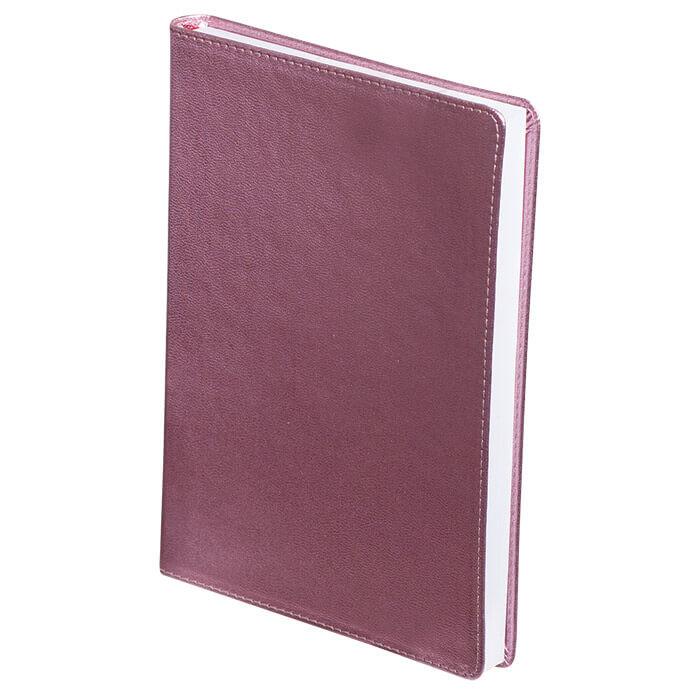 Щоденник недатований METALLIC, A5, 288 стр. рожевийBM.2033-10