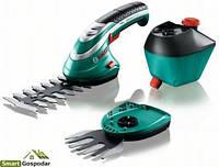 Аккумуляторные ножницы для травыISIO 3 и насадка-распылитель