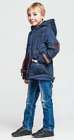 Демисезонная куртка парка Классика для мальчика (рост 122-146)