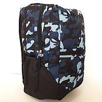 Рюкзак камуфляжный синий