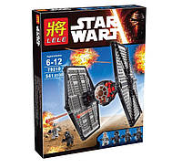 Конструктор Lele 79210 (аналог LEGO Star Wars 75101) TIE Истребитель особых войск Первого Ордена, 541 дет