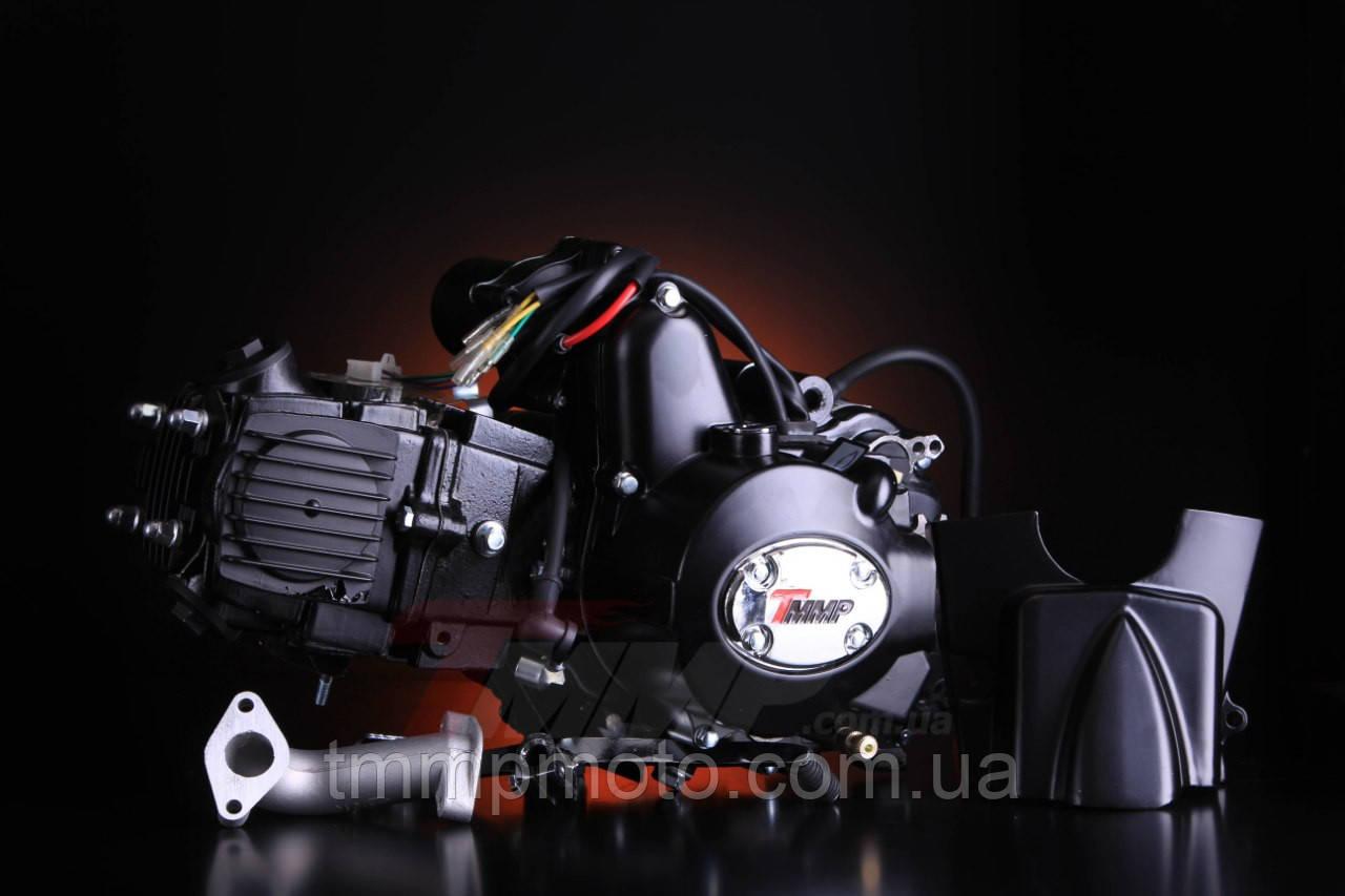 Двигатель Дельта-125см3 для квадроциклов ( 3 вперёд и 1 передача назад ) механика