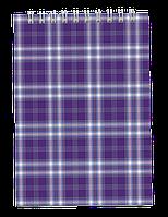 Блокнот на пружине сверху SHOTLANDKA, А6, 48 листов, клетка фіолетовий BM.2480-07