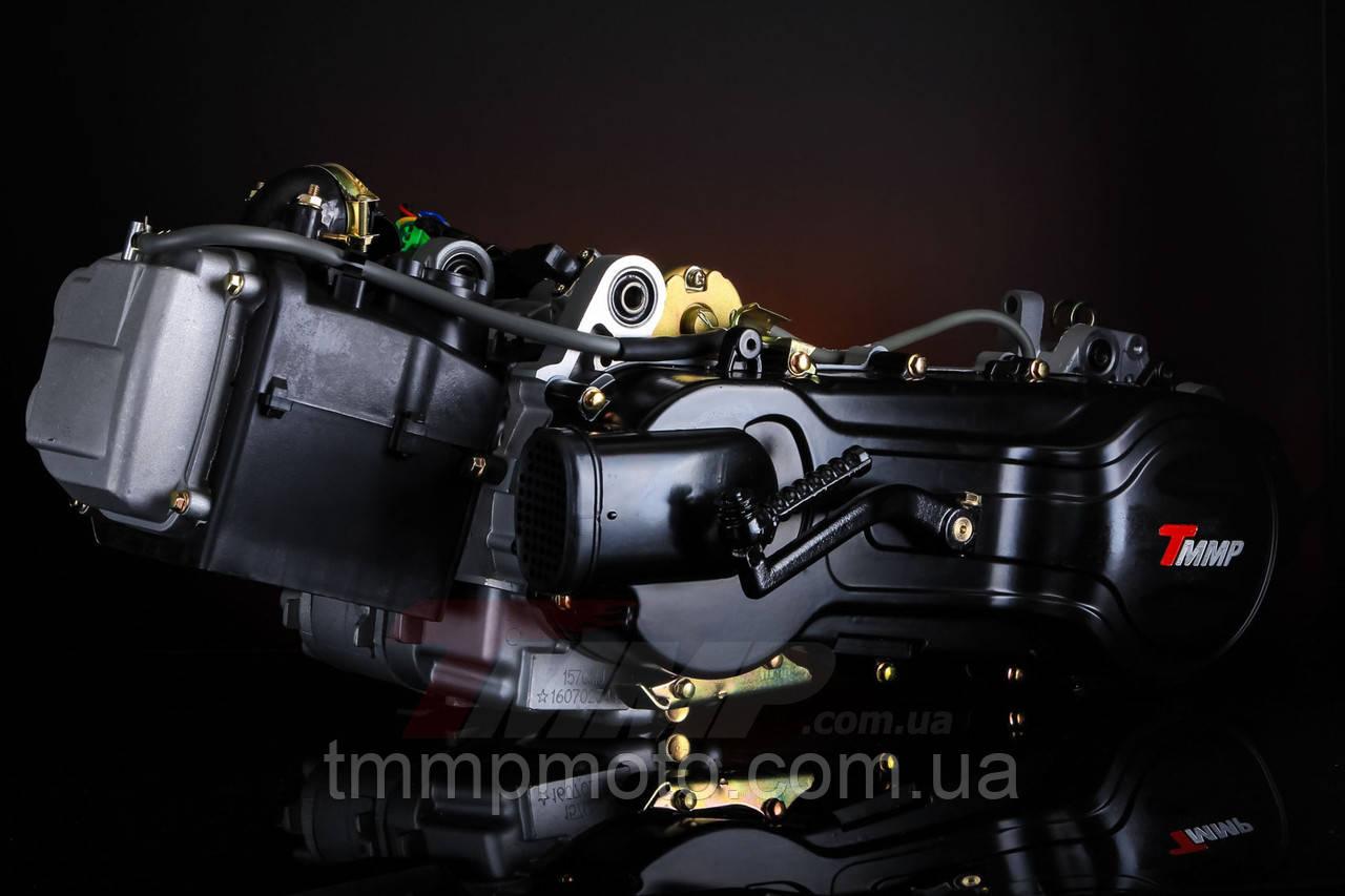 """Двигатель в сборе 150cc 157QMJ (13"""" колесо) под два амортизатора оригинал ТММР"""
