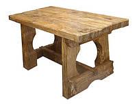 Стол деревянный под старину СВИТЯЗЬ для ресторана, бани, паба и терассы