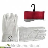 Перчатка замшевая (крага) 10.5 Intertool SP-0015