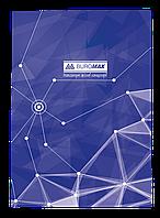 Книга обліку Піраміди 96 арк кліт.оф.(тв. лам. обл), А4, синій BM.2400-702
