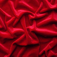 Ткань бархат - цвет красный