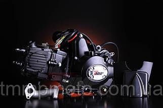 Двигатель-125куб 157FMN полуавтомат чёрный ТММР, фото 2