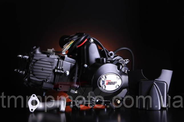 Двигатель active актив ТММР Racing-125куб полуавтомат чёрный, фото 2