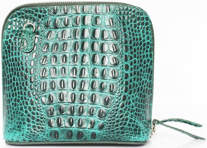 Женская сумка из кожи Mykhail Ikhtyar 6726 зеленый