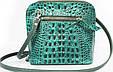 Жіноча сумка зі шкіри Mykhail Ikhtyar 6726 зелений, фото 2