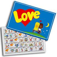 """Прикольный подарок девушке. Набор конфет """"Love IS"""", фото 1"""