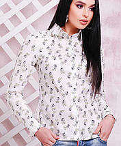 Женская блузка с принтом (1709 mrs), фото 2