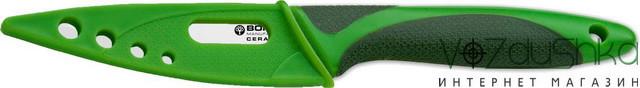 Кухонный нож Boker Ceramic color line Green 1300c10