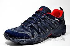 Кроссовки мужские в стиле Adidas Terrex Fast X (Dark Blue, Red), фото 2