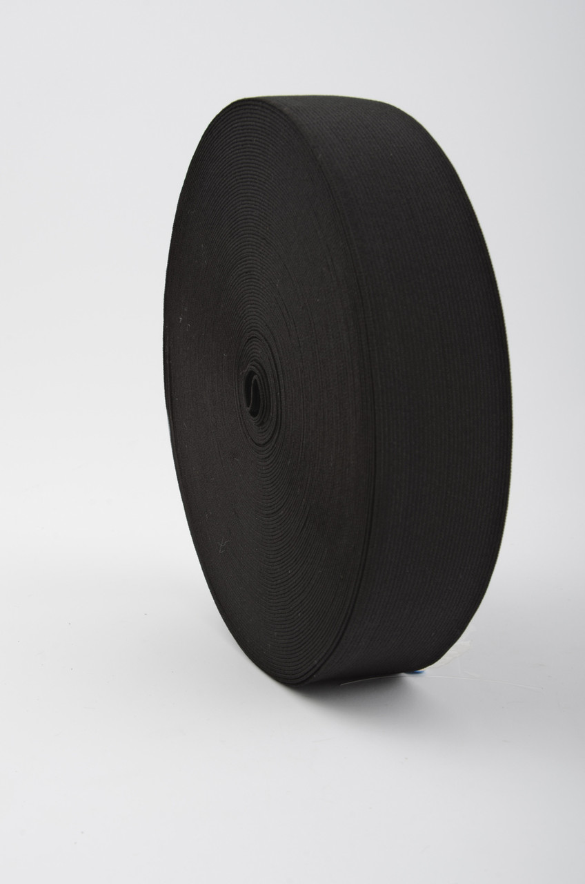 40 mm Confection Elastic / Black / 25 m