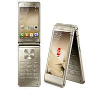 VIP Смартфон-раскладушка W2016  с 2 дисплеями gold(золотой) , фото 1