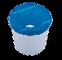 Стакан-непроливайка, пластик, асорті86801