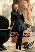 Плещевка с юбкой колокол черная